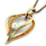 Изящное ожерелье со стразами цена фото