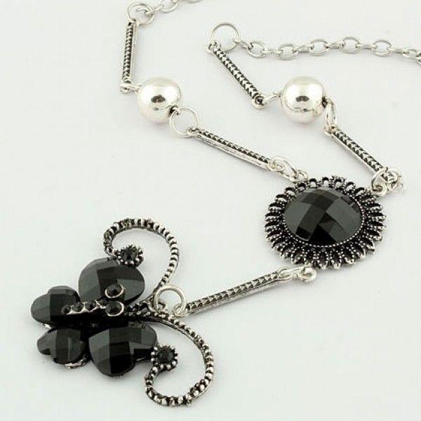 РАСПРОДАЖА! Серебристое ожерелье с бабочкой