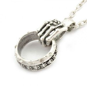 РАСПРОДАЖА! Ожерелье с кулоном в форме кольца