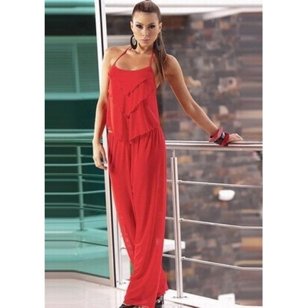 РАСПРОДАЖА! Модный красный Комбинезон