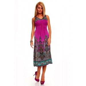 SALE! Summer dress with bright print