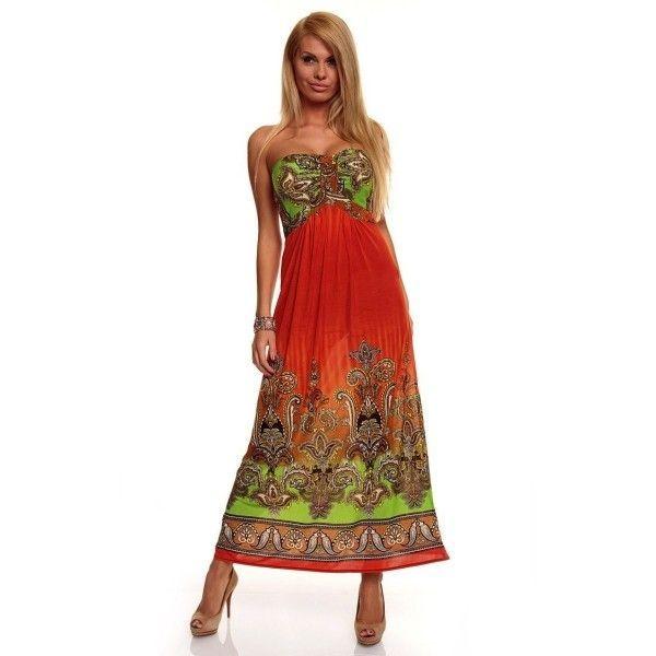 Купить онлайн Легкое романтическое платье Orange фото цена акция распродажа