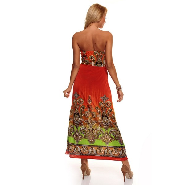 SALE! Summer orange dress. Артикул: IXI31157