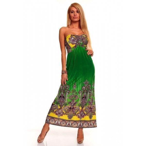 Купить онлайн Гламурное длиное платье фото цена акция распродажа