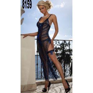 Long sexy negligee