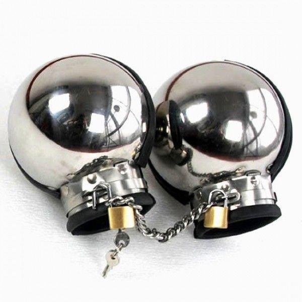 BDSM (БДСМ) - Металлические бондажные наручники