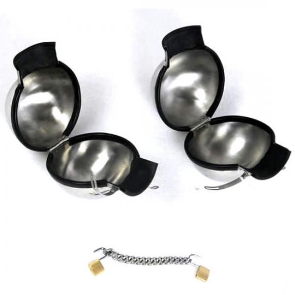 BDSM (БДСМ) - <? print Металлические бондажные наручники; ?>