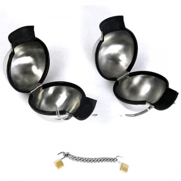 SALE! Metal bondage handcuffs. Артикул: IXI31420