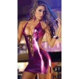 РАСПРОДАЖА! Сексуальное виниловое платье по оптовой цене