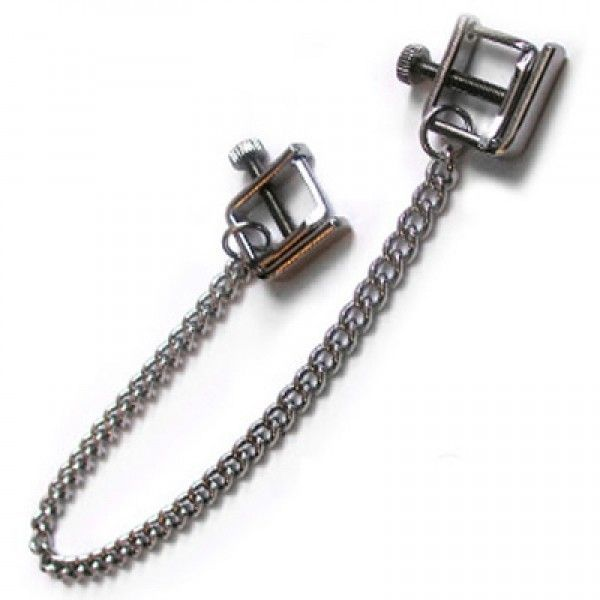 Nipple clamps steel