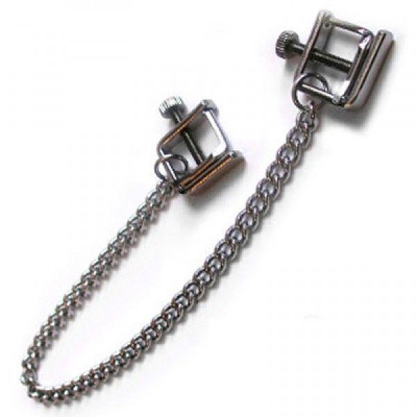 Nipple clamps steel