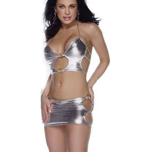 SALE! Hot vinyl bikini set. Артикул: IXI31924