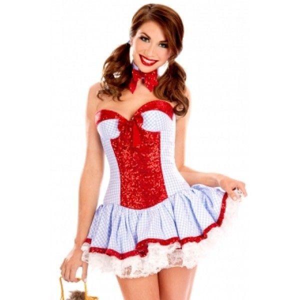 Сексуальный костюм Country Girl