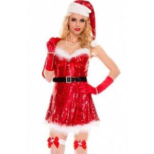 Соблазнительный костюм Miss Santa