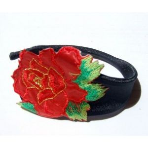 SALE! C-string with red flower