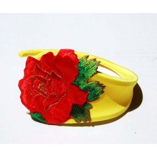 РАСПРОДАЖА! Желтые C-string с розой