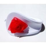 Белые С-стринги с красным бантиком цена фото