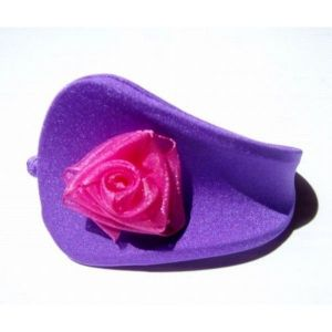 SALE! Purple With g-string with pink bow