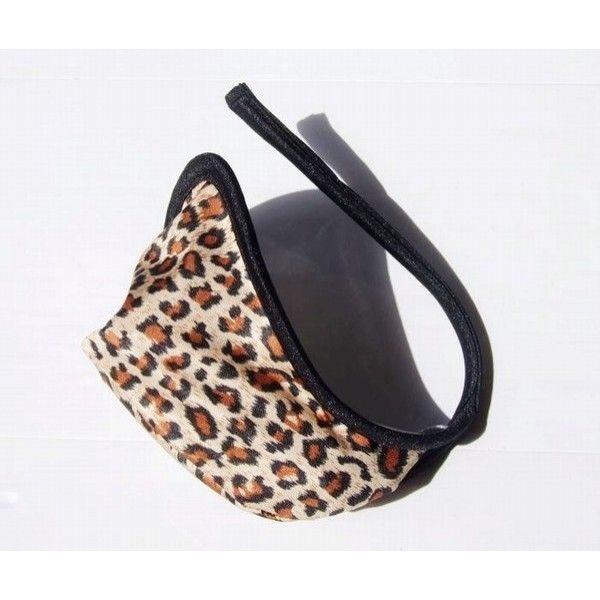 SALE! Mens leopard print g-string