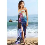 Gentle chiffon beach dress pareo