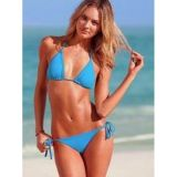 SALE! Blue swimsuit with padded cups.