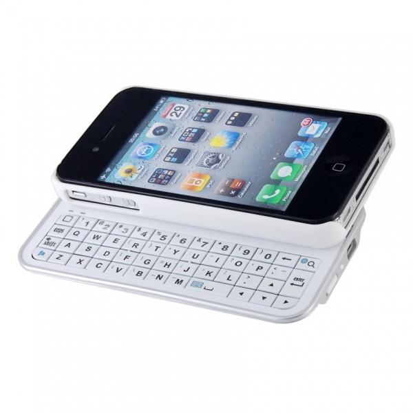 РАСПРОДАЖА! SLIDE Bluetooth 2.0 3.7v Mini Keypad for iPhone 4/4S (Black)