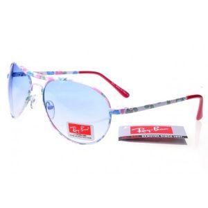 РАСПРОДАЖА! Солнцезащитные  очки Ray-Ban голубого цвета