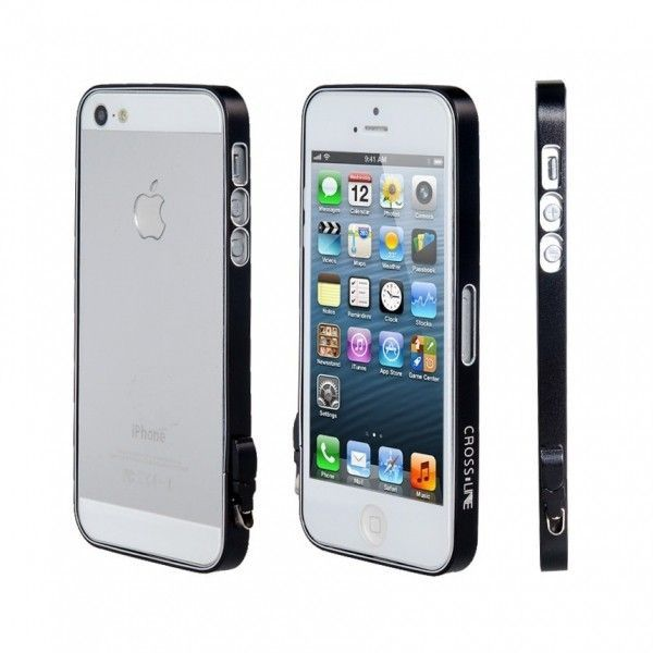 РАСПРОДАЖА! Ultra-Thin Protective Frame & Earbud Touch Pen & Tool Set for iPhone 5 (Black)