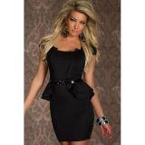 Платье с пояском по оптовой цене
