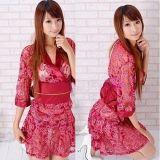 РАСПРОДАЖА! Розовое полупрозрачное кимоно по оптовой цене
