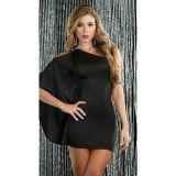 РАСПРОДАЖА! Роскошное мини платье на одно плечо по оптовой цене