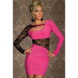 РАСПРОДАЖА! Розовое платье по оптовой цене