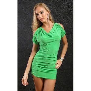 РАСПРОДАЖА! Салатовое мини-платье