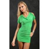 РАСПРОДАЖА! Салатовое мини-платье по оптовой цене