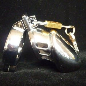 Designer male chastity belt CB-6000S