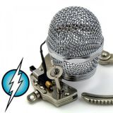 Chastity belt Microphone with shock