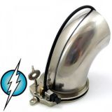 BDSM (БДСМ) - Electric Shock E-Stim Electrosex Penis Electrode Masturbation CockCuff EXTRA LARGE TUBE