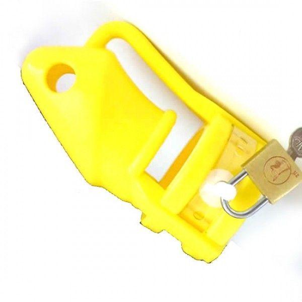 BDSM (БДСМ) - Желтое силиконовое устройство верности