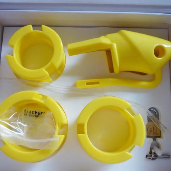 BDSM (БДСМ) - <? print Желтое силиконовое устройство верности; ?>