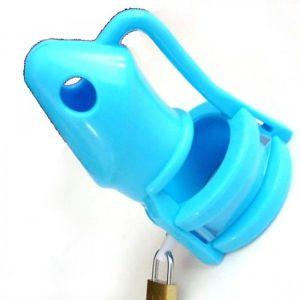 Голубое силиконовое устройство верности