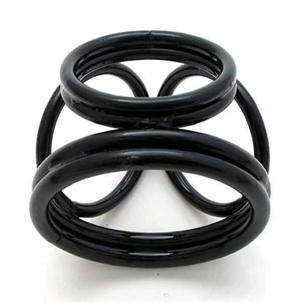 BDSM (БДСМ) - Фиксатор - Черный шар