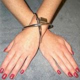 Steel shackles for hands women