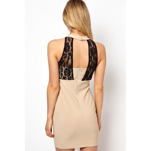 Bodycon sleeveless dress. Артикул: IXI34154