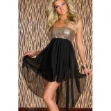 Очаровательное платье-бандо