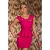 Кружевное мини-платье по оптовой цене