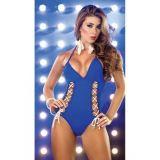 Blue swimsuit Monokini