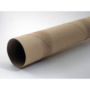 Тубусы гильзо-картонные для упаковки плакатов / 62 см, 100 шт. - Интерьер, декор