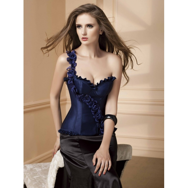 SALE! Corset Blue Flowers. Артикул: IXI34940