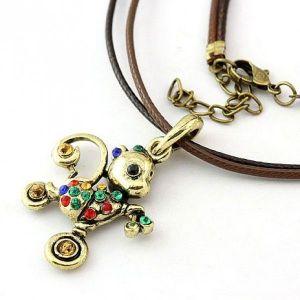 РАСПРОДАЖА! Ожерелье с подвеской-мышонком