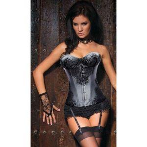 SALE! Elegant satin corset
